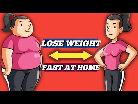 HOW TO LOSE WEIGHT FAST AT HOME !! THIS TIPS ALWAYS WORKS !!