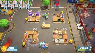 [Overcooked 2: Level Kevin 2] 2-Player Former World Record Score: 1776