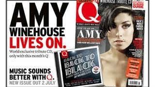 Back To... Back To Black - Amy Winehouse covers CD free with Q313 out 2 July
