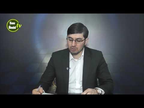 Hacı İlkin Quran elmleri 1-ci ders