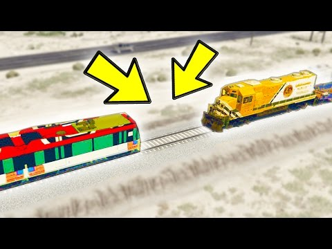 CAN A TRAM STOP THE TRAIN IN GTA 5?