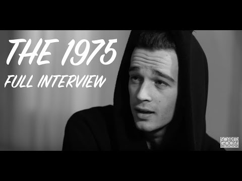 Matty Healy from The 1975 Interview