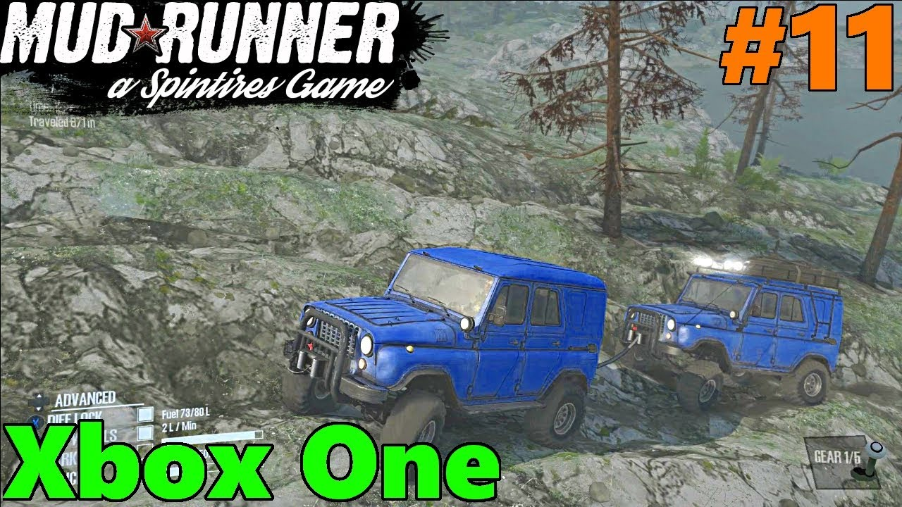 spintires mud runner xbox one let 39 s play part 11 rocky. Black Bedroom Furniture Sets. Home Design Ideas