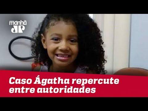 RJ: Caso Ágatha repercute entre autoridades