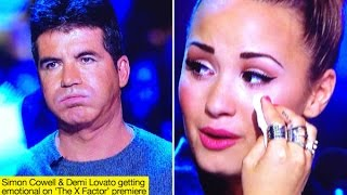 Demi Lovato & Simon Cowell Greatest/Funniest X Factor Moments Full Edition