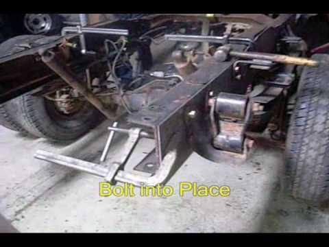 Frame Reinforcement For Wheel Lift Units At Detroit