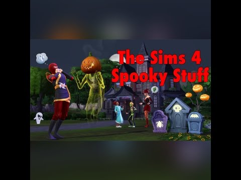 The Sims 4 Spooky Stuff Pack + September 2015 Patch |