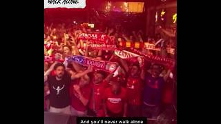 Liverpool Fans Chants Compilation from Istanbul—Allez, Allez, Allez; Si, Senor; YNWA and More