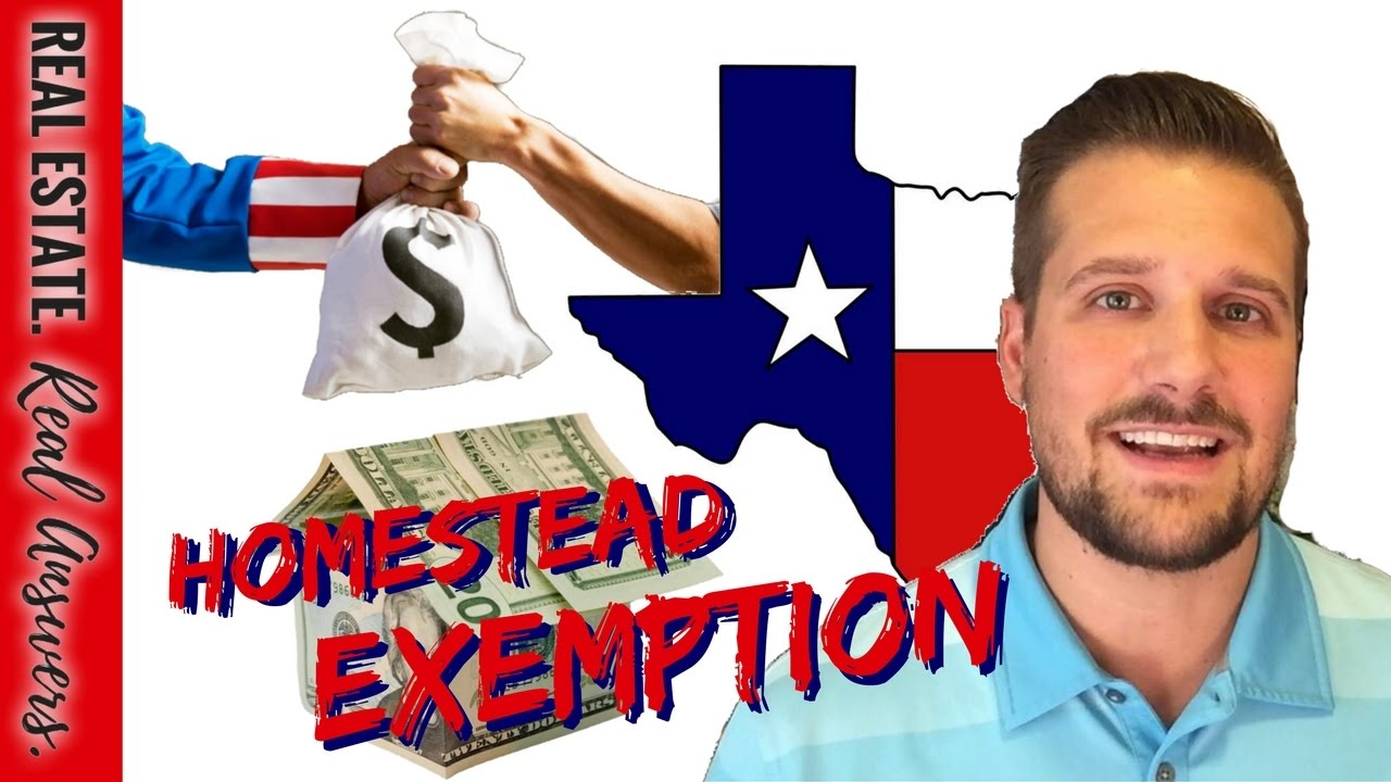 TEXAS HOMESTEAD EXEMPTION: What You Need to Know - YouTube