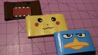 How to make a Duct tape Character wristband!