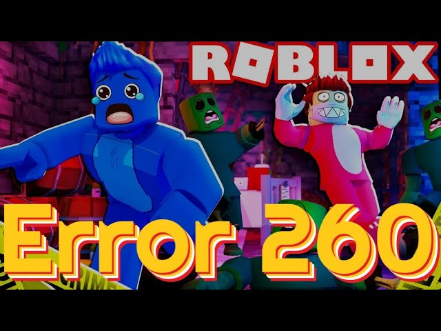 Roblox Xbox Error 116 Roblox Error Code 260 Easy Fix There Was A Problem Receiving Data Pc Mobile Ipad Youtube
