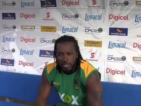 Chris Gayle Interview for Caribbean Premier League - CPL T20