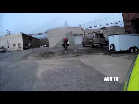 Motorcycle Ride Ludlow (Ludlow Mills), Massachusetts