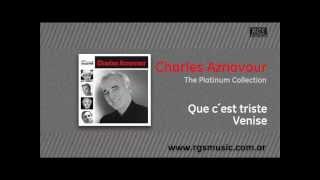 Charles Aznavour - Que c´est triste Venise