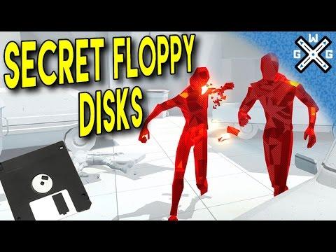 Secret Floppy Disks in SUPERHOT VR - Treasure Hunter