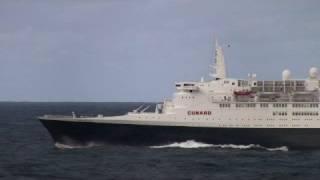 Queen Elizabeth 2 Last Voyage Mid-Atlantic - October 12 2008