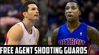 NBA Free Agents 2017 | Top 5 Shooting Guards