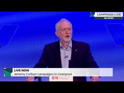 Jeremy Corbyn promises extra £37bn to NHS
