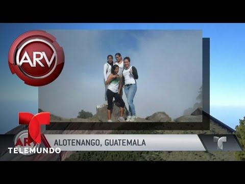 Mueren de frío excursionistas en volcán en Guatemala | Al Rojo Vivo | Telemundo