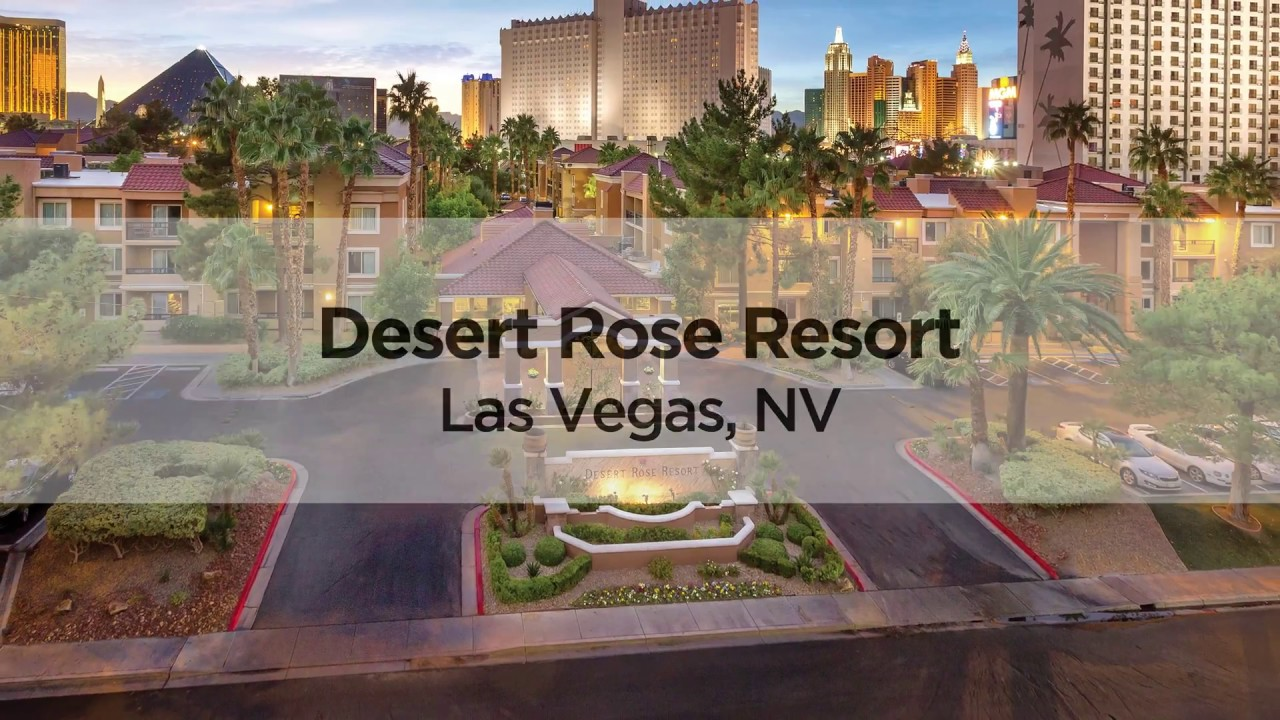 Las Vegas Shell Vacations Club Timeshare Resort Desert Rose Resort