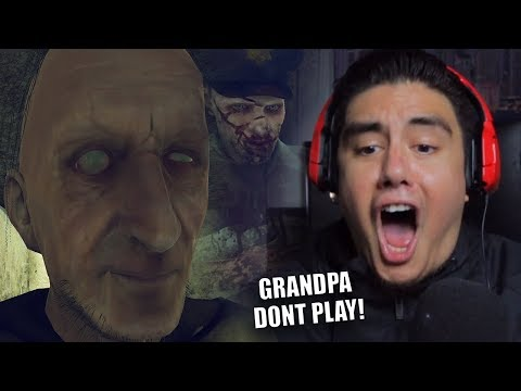 GRANNY HAS A HUSBAND AND HE'S CRAZY TOO! | Grandpa (Granny sequel?!)