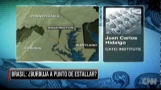 Juan Carlos Hidalgo comenta economía de Brasil en CNN en Español