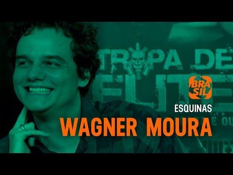 """Wagner Moura na coletiva de """"Tropa de Elite 2"""" l Esquinas"""