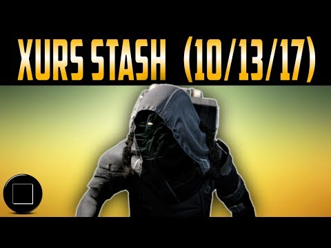 Destiny 2 - Xur's Location And Inventory (10/13/17)
