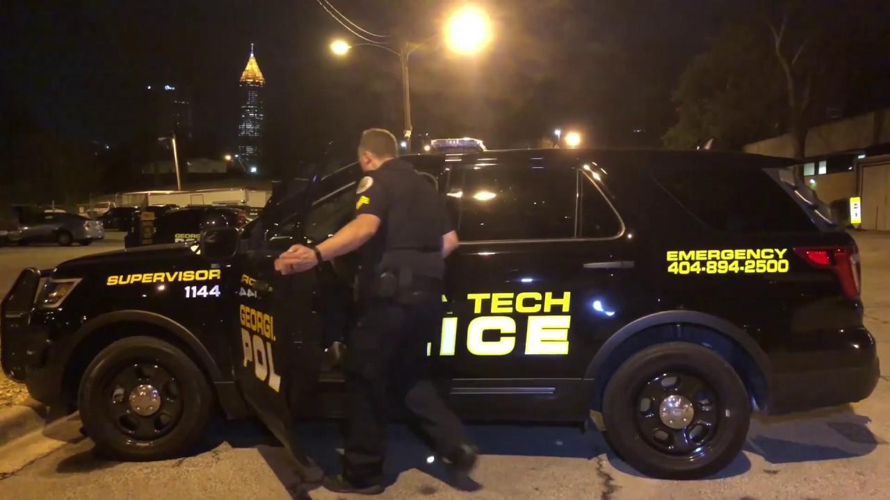 Ride Along with Georgia Tech Police