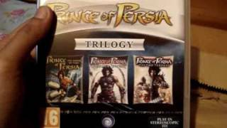 Prince of Persia Trilogy (HD/3D & Trophies) First Unboxing by Azard3 [Sony PS3]