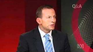 Tony Abbott on respect for gay people and their rights