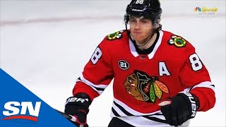 Toews Makes Great Pass, Kane Scores To Extend Point Streak To 20 Games
