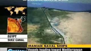 Iranian Navy Vessels Crossed Suez Canal