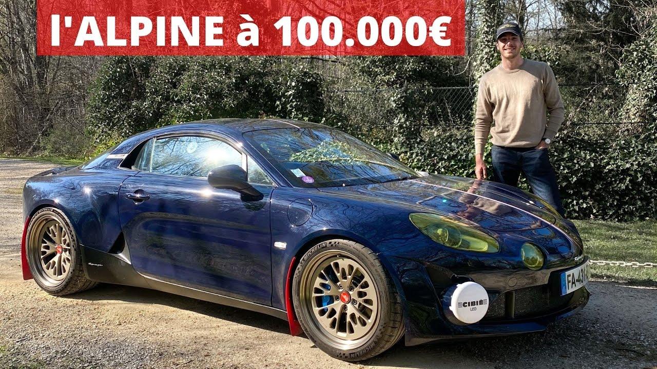Download Essai Alpine A110 Ravage: Le Rallye dans la peau