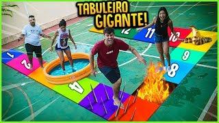 JOGO DE TABULEIRO GIGANTE MAIS PERIGOSO!! ( GANHA 5000 R$ )  [ REZENDE EVIL ]