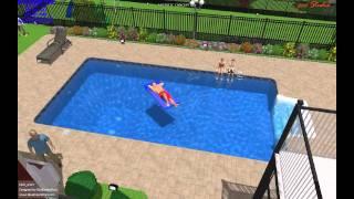 3d swimming pool design- 3d inground pool design - in-ground 3d pool design