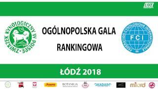 Ogólnopolska Gala Rankingowa - Łódź 2018