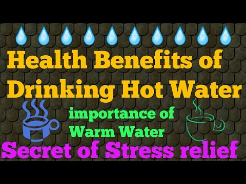 Health Benefits of Drinking Hot Water|Warm Water therapy|importance of Hot Water|#SlideShow/MustWatc