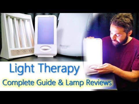 Happy Light Therapy For Depression SAD (Best Happy Lamp Reviews) Verilux Vs Sun Touch Plus