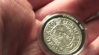 Юбилейные 5 евро в честь 500летия Ливонского Фердинга(Небольшой обзор вышедшей юбилейной монеты 5евро в честь 500 летия Ливонского Фердинга., 2015-12-08T21:42:45.000Z)