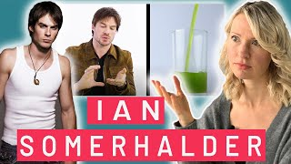 Dietitian Reacts to Everything Ian Somerhalder Eats in a Day (PS: This Gets Pretty Weird)