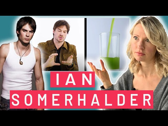 Dietitian Reviews Everything Ian Somerhalder Eats in a Day (PS: This Gets Pretty Weird)
