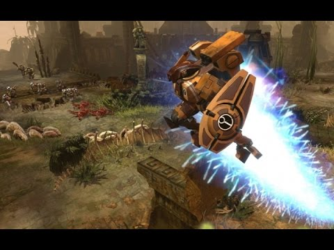 Обзор cборки на Тау  в игре Warhammer 40k Retribution (The Last Stand)