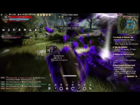 Black Desert Online PS4 PRO - DragoniNeri - Dark Rift Ruins Guard Tower