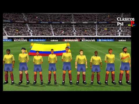 Clasicos Ps1 - Gameplay Winning eleven 2002
