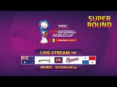 No. 13 Australia v No. 15 Panama - Super Round - U-23 Baseball World Cup 2016 - Gm 43