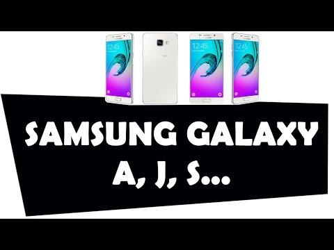 SAMSUNG GALAXY A, J y S
