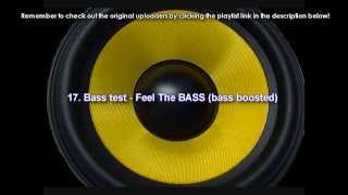 Best Bass Boosted Subwoofer car songs, hiphop, dubstep - TOP 20 (CLEAN quality). HD, free download
