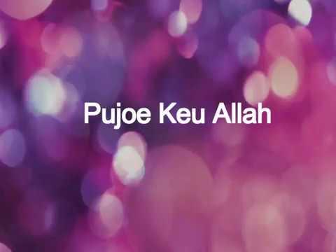 Lagu Islam Religi Aceh Pujoe Keu Allah