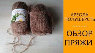 АРЕОЛА ПОЛУШЕРСТЬ (НОВИНКА) // ОБЗОР ПРЯЖИ